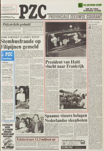 Provinciale Zeeuwse Courant 1986-02-08