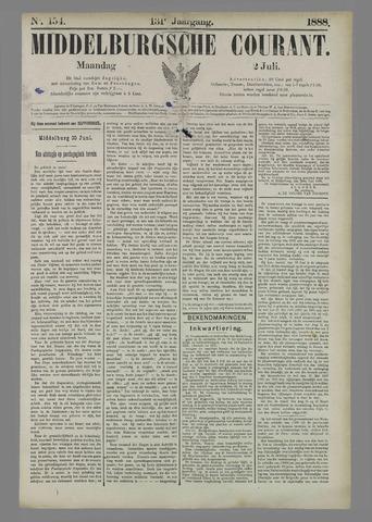 Middelburgsche Courant 1888-07-02