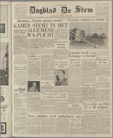 de Stem 1963-01-11