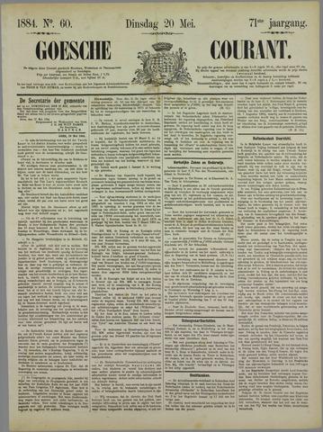 Goessche Courant 1884-05-20