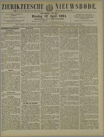 Zierikzeesche Nieuwsbode 1904-04-12