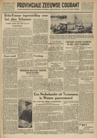 Provinciale Zeeuwse Courant 1950-06-03