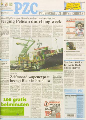 Provinciale Zeeuwse Courant 2003-07-21