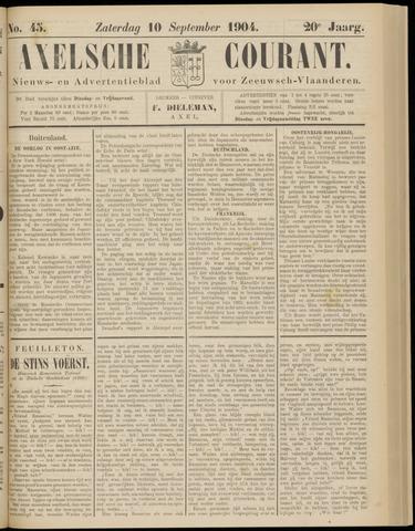 Axelsche Courant 1904-09-10