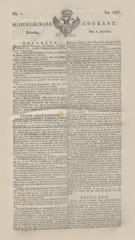 Middelburgsche Courant 1762