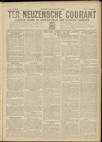 Ter Neuzensche Courant. Algemeen Nieuws- en Advertentieblad voor Zeeuwsch-Vlaanderen / Neuzensche Courant ... (idem) / (Algemeen) nieuws en advertentieblad voor Zeeuwsch-Vlaanderen 1942-03-04