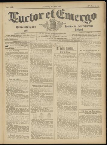 Luctor et Emergo. Antirevolutionair nieuws- en advertentieblad voor Zeeland / Zeeuwsch-Vlaanderen. Orgaan ter verspreiding van de christelijke beginselen in Zeeuwsch-Vlaanderen 1913-05-17