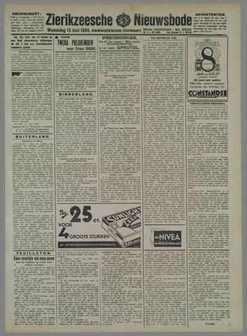 Zierikzeesche Nieuwsbode 1934-06-13