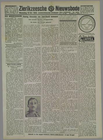 Zierikzeesche Nieuwsbode 1934-10-10