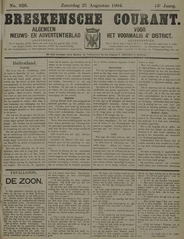 Breskensche Courant 1904-08-27