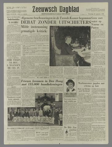 Zeeuwsch Dagblad 1959-09-30