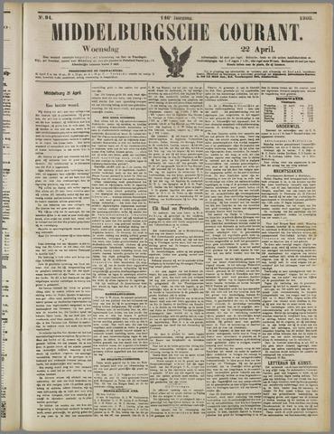 Middelburgsche Courant 1903-04-22