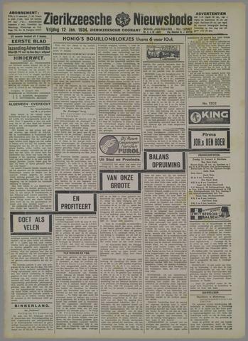 Zierikzeesche Nieuwsbode 1934-01-12