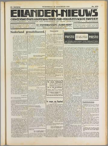 Eilanden-nieuws. Christelijk streekblad op gereformeerde grondslag 1939-08-30