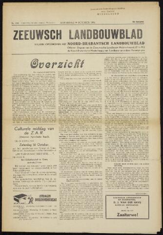 Zeeuwsch landbouwblad ... ZLM land- en tuinbouwblad 1954-10-09