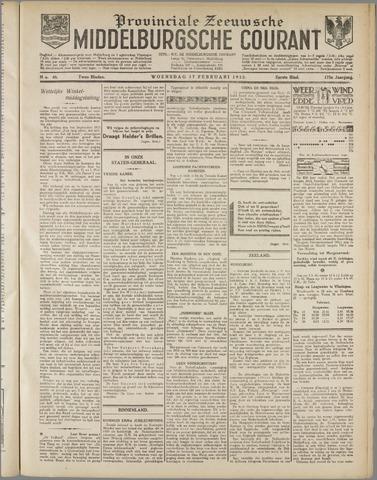 Middelburgsche Courant 1932-02-17