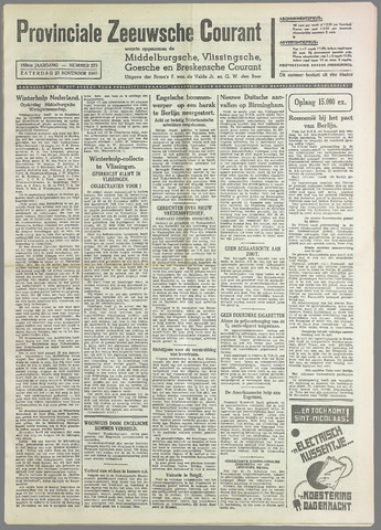 Provinciale Zeeuwse Courant 1940-11-23