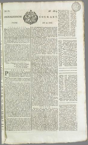 Zierikzeesche Courant 1814-07-29
