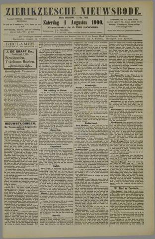 Zierikzeesche Nieuwsbode 1900-08-04