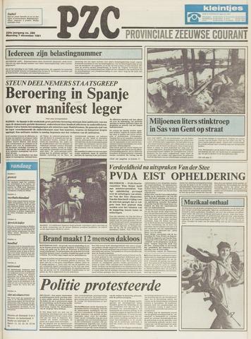 Provinciale Zeeuwse Courant 1981-12-07