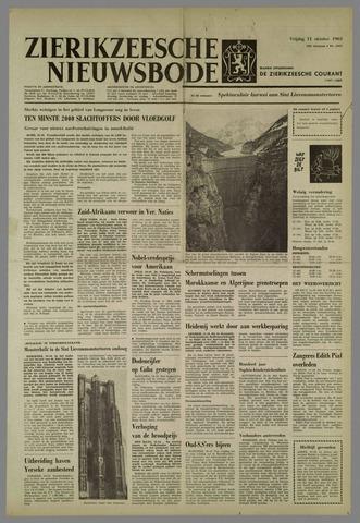 Zierikzeesche Nieuwsbode 1963-10-11
