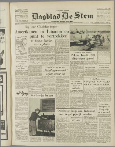 de Stem 1958-08-09