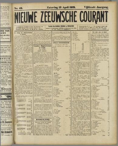 Nieuwe Zeeuwsche Courant 1919-04-12