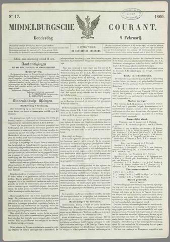 Middelburgsche Courant 1860-02-09