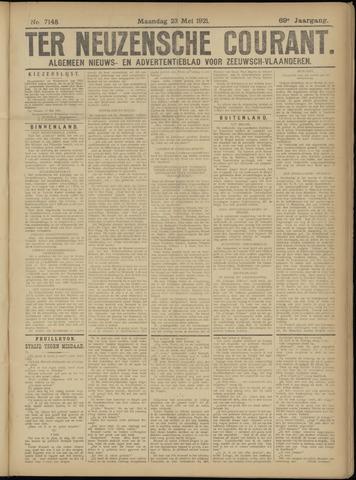 Ter Neuzensche Courant. Algemeen Nieuws- en Advertentieblad voor Zeeuwsch-Vlaanderen / Neuzensche Courant ... (idem) / (Algemeen) nieuws en advertentieblad voor Zeeuwsch-Vlaanderen 1921-05-23
