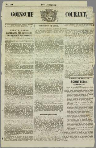 Goessche Courant 1857-07-02