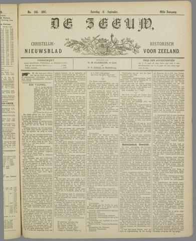 De Zeeuw. Christelijk-historisch nieuwsblad voor Zeeland 1897-09-11