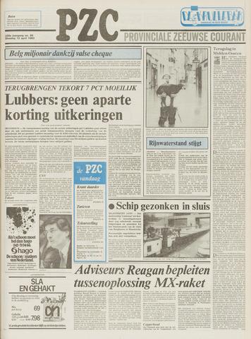 Provinciale Zeeuwse Courant 1983-04-12
