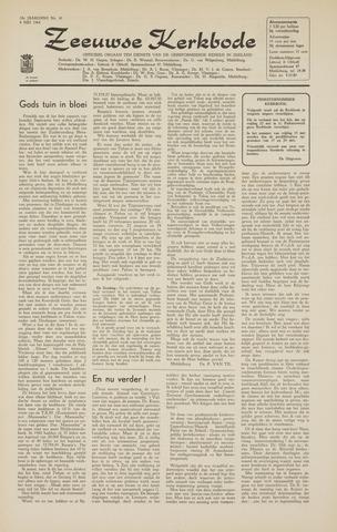 Zeeuwsche kerkbode, weekblad gewijd aan de belangen der gereformeerde kerken/ Zeeuwsch kerkblad 1964-05-08