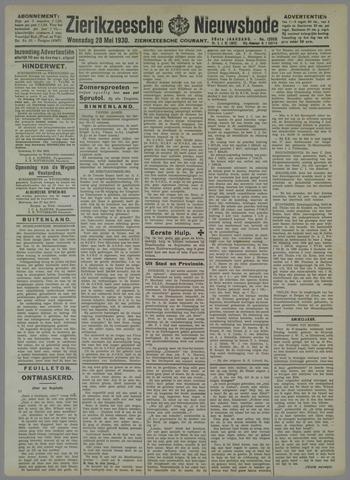 Zierikzeesche Nieuwsbode 1930-05-28