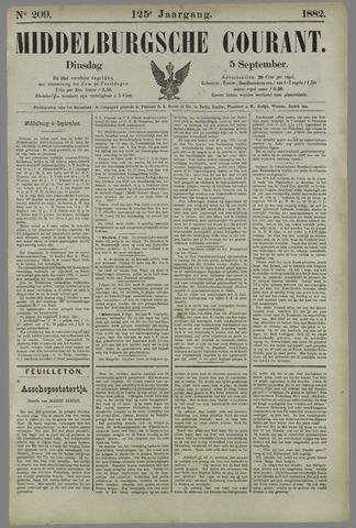 Middelburgsche Courant 1882-09-05