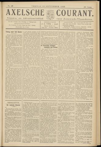 Axelsche Courant 1933-09-15