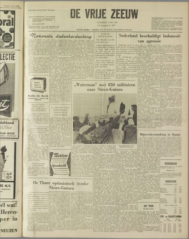 de Vrije Zeeuw 1962-05-05