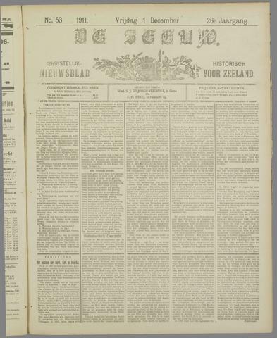 De Zeeuw. Christelijk-historisch nieuwsblad voor Zeeland 1911-12-01