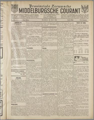 Middelburgsche Courant 1932-07-25