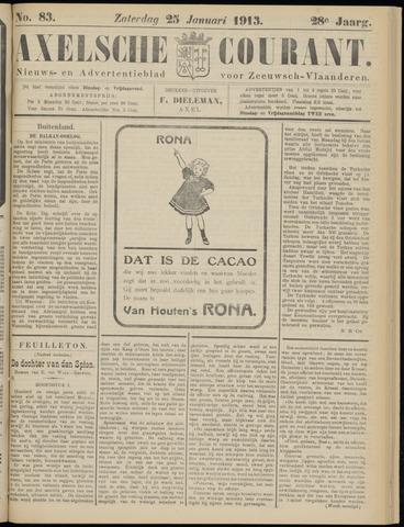 Axelsche Courant 1913-01-25
