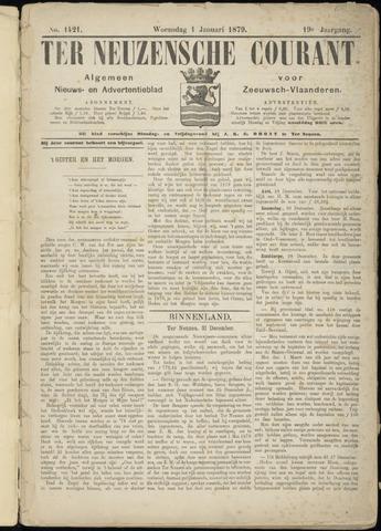 Ter Neuzensche Courant. Algemeen Nieuws- en Advertentieblad voor Zeeuwsch-Vlaanderen / Neuzensche Courant ... (idem) / (Algemeen) nieuws en advertentieblad voor Zeeuwsch-Vlaanderen 1879
