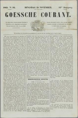 Goessche Courant 1865-11-28
