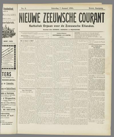 Nieuwe Zeeuwsche Courant 1905-01-07