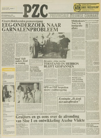 Provinciale Zeeuwse Courant 1976-10-06