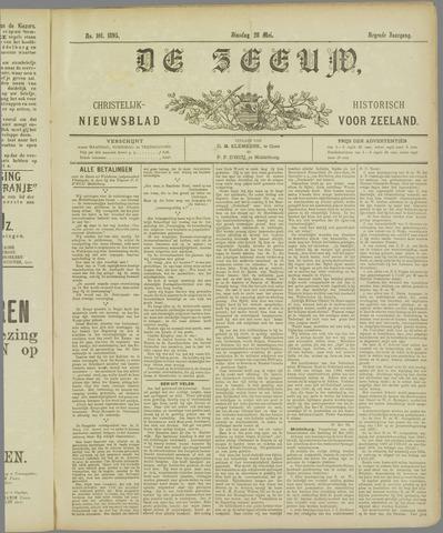De Zeeuw. Christelijk-historisch nieuwsblad voor Zeeland 1895-05-28