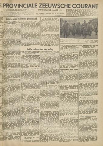 Provinciale Zeeuwse Courant 1944-03-02