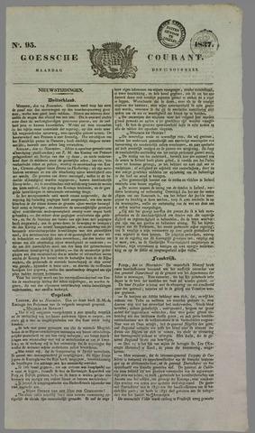 Goessche Courant 1837-11-27