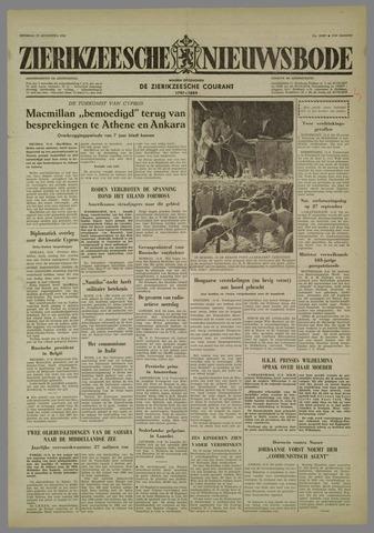 Zierikzeesche Nieuwsbode 1958-08-12