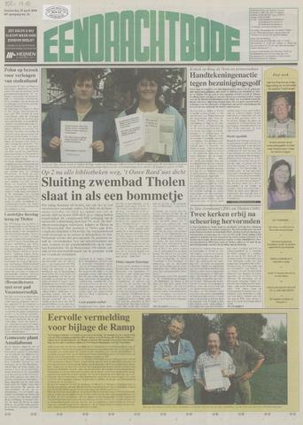 Eendrachtbode (1945-heden)/Mededeelingenblad voor het eiland Tholen (1944/45) 2004-04-29