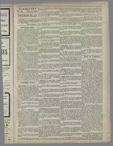 """""""Vooruit!""""Officieel Nieuws- en Advertentieblad voor Overflakkee en Goedereede 1917-06-16"""